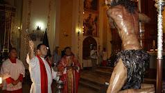 El Cristo de la Humildad recibe la bendición.