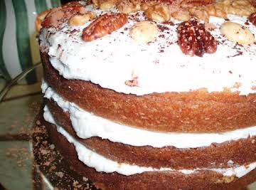 Triple Layer Spice Cake