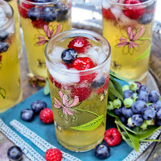 Passion Fruit and Berries Sparkler.