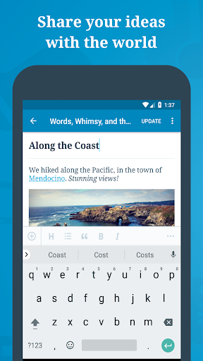WordPress – Website & Blog Builder 11.3 screenshots 1