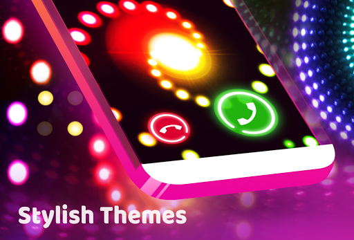 Screenshot for Color Phone Flash - Call Screen Theme, LED in Hong Kong Play Store