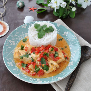 Dominican Cod in Coconut Milk