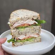 Chicken Bacon Club Sandwich