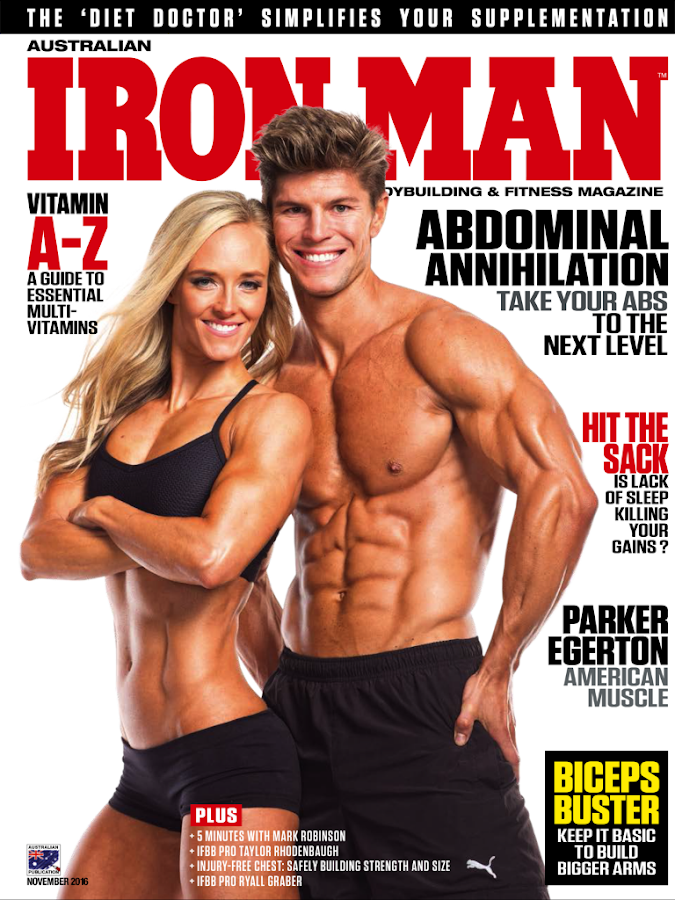 Australian Iron Man Magazine- screenshot