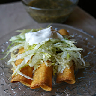 TACOS DE PAPA {potato tacos}
