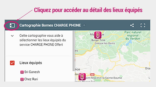 IMAGE NOTICE CARTOGRAPHIE charge phone