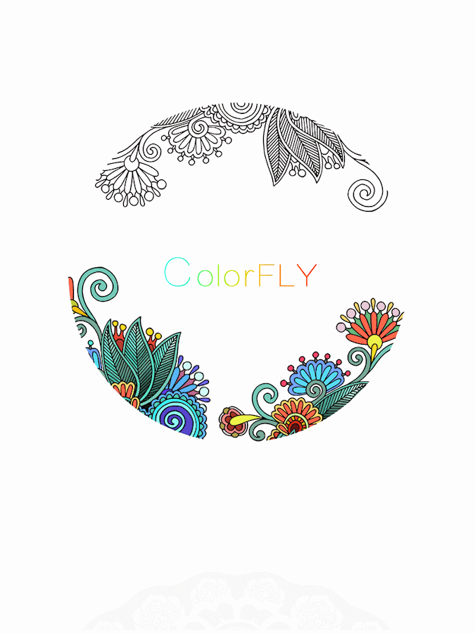 Colorfly : Coloring Games: captura de pantalla