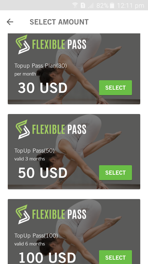 Flexible Pass- screenshot
