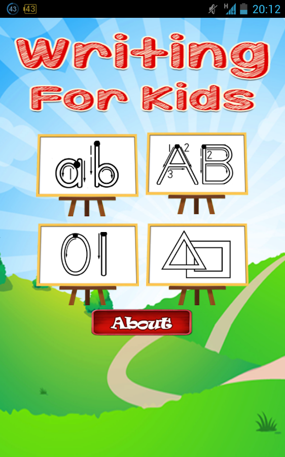 Learn Writing for Kids Free- screenshot