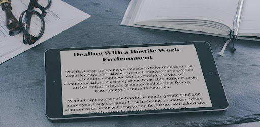 HOSTILE WORK ENVIRONMENT-GUIDES AND ADVICES