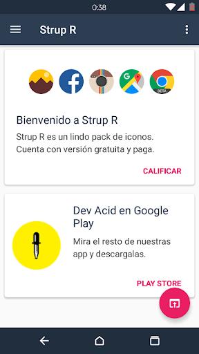 Strup R - Icon Pack