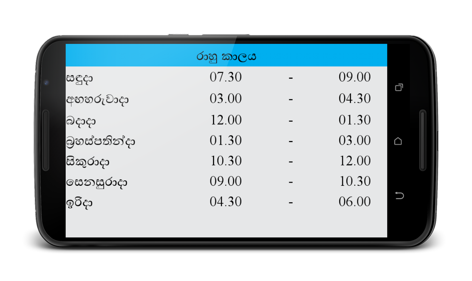 1511 x 900 png 310kB, Sinhala Astrology - Android Apps on Google Play