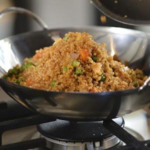 Vegetarian Quinoa 'Fried Rice'