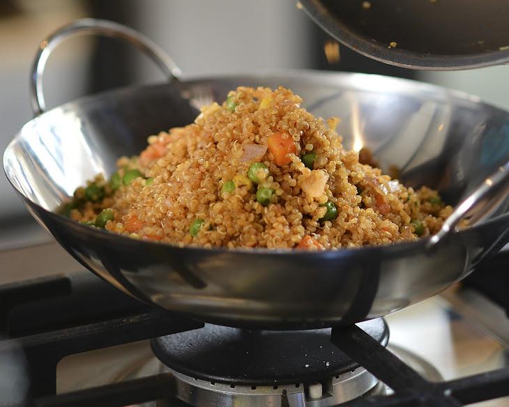 Vegetarian Quinoa 'Fried Rice' Recipe