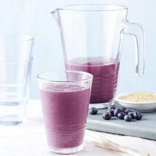 Blueberry Quinoa Smoothie