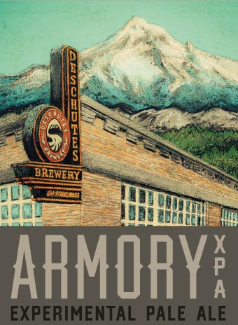Logo of Deschutes Armory XPA