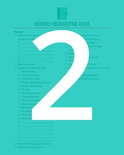 module 2: bookkeeping