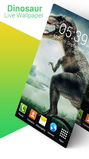 Dinosaur Live Wallpaper screenshot 1