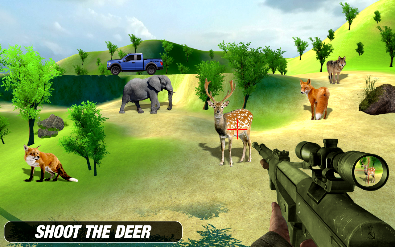 Animal Hunting Sniper Shooting Expert- screenshot