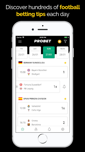 Football Betting Tips, Odds & Livescore - Pro Bet 1.0 screenshots 1