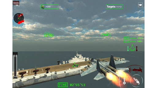 Air Force Surgical Strike War - Fighter Jet Games  screenshots 4