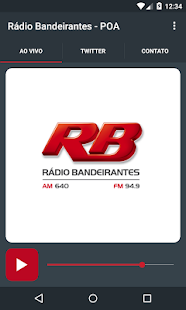 Rádio Bandeirantes - POA- screenshot thumbnail