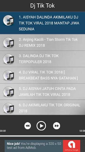 Dj Tik Tok 2018 1.0.0 screenshots 2