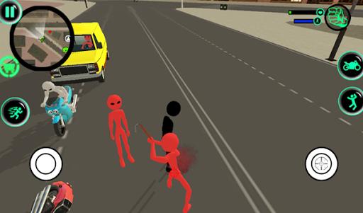 Grand StickMan Vegas Mafia Crime Fight To Survive 1.0 screenshots 2