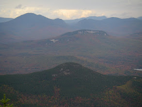 Photo: Potash Mountain, Green's Cliff, Mount Carragain, and Carragain Notch from Passaconaway.