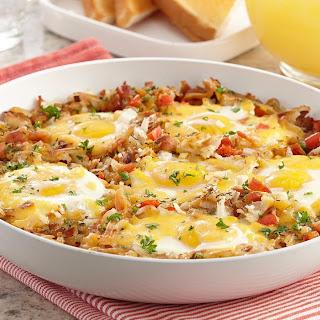 Bacon and Potato Breakfast Skillet Hash Recipe