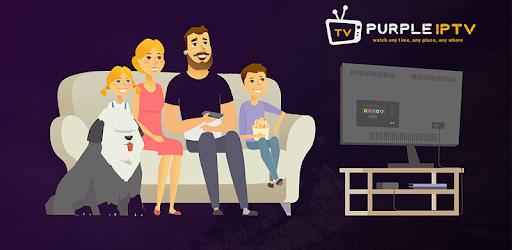 IPTV Smart Purple Player – No Ads v4.0 (Mod-Sap)