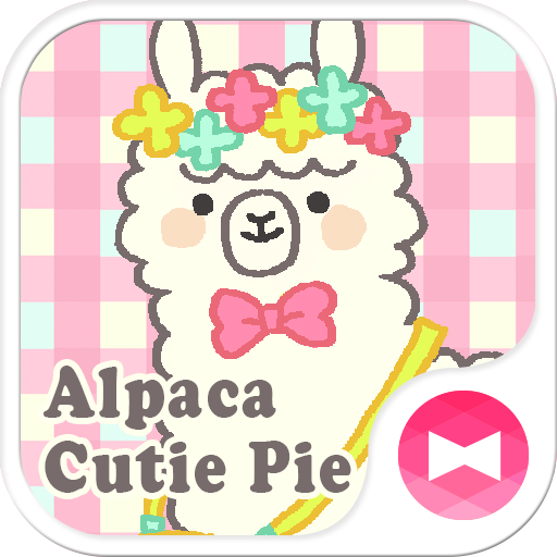 Alpaca Cutie Pie +HOME Theme 個人化 App LOGO-APP開箱王