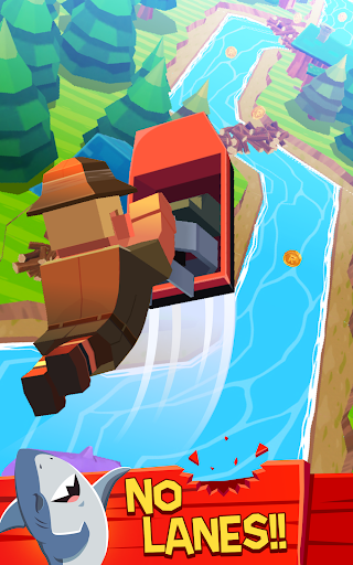 Rowan McPaddles: River Rush - screenshot