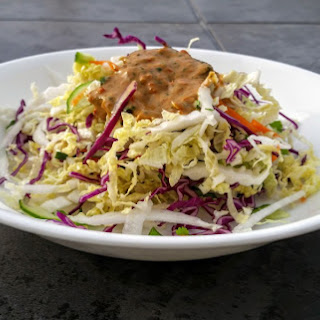 Thai Coleslaw with Cilantro.