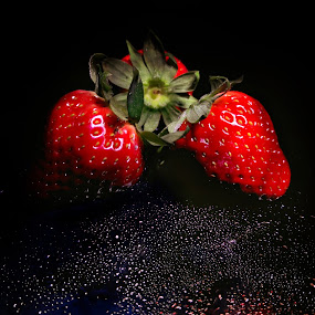 Strawberries by Mariusz Murawski - Food & Drink Fruits & Vegetables ( #strawberry, #indoor, #fruits, #food,  )
