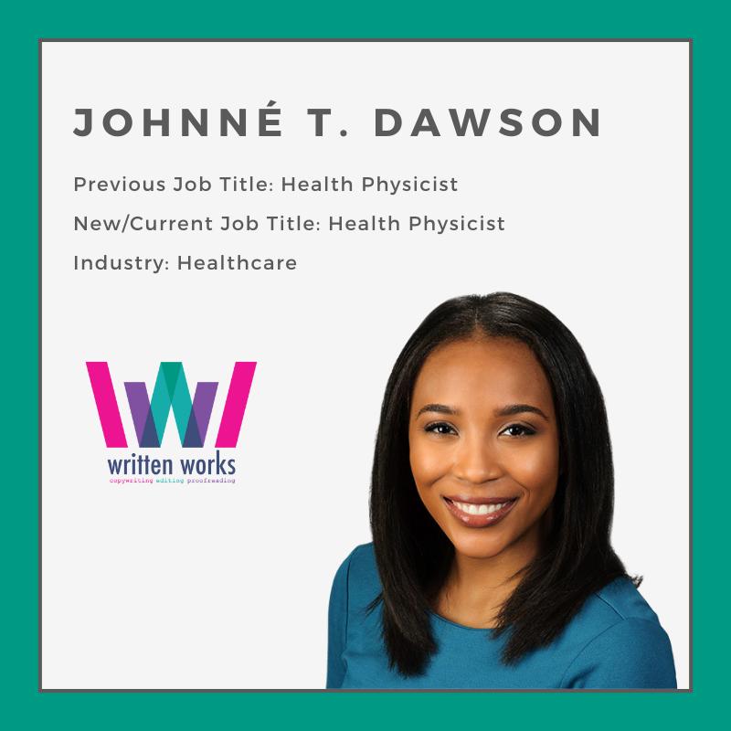 How to Change Jobs - Written Works - Johnne Dawson