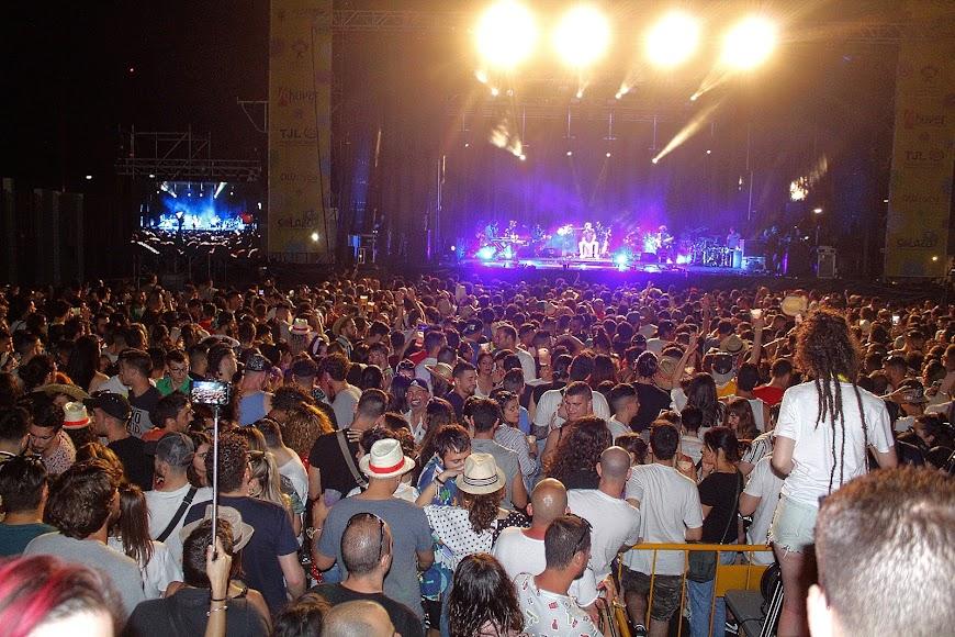 Más de cinco mil personas disfrutaron del \'Solazo Fest\'.