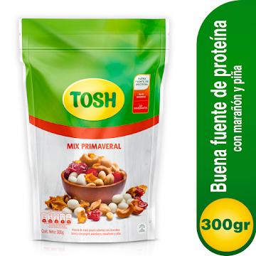Pasabocas Tosh Mix   Primaveral Paquete X300G.