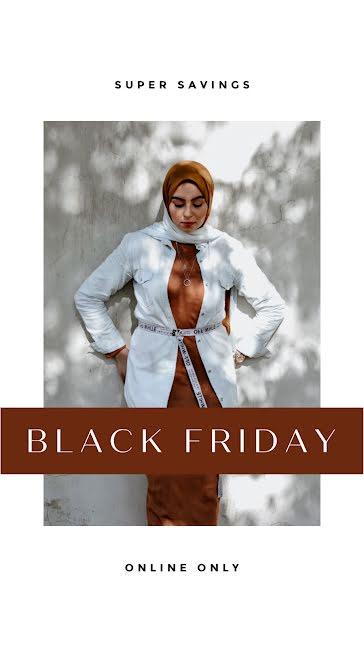 Black Friday Super Savings - Facebook Story template