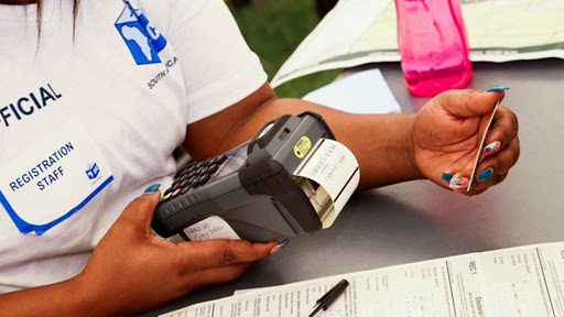 The Electoral Commission eyes 60 000 new portable voter registration devices. (Source: IEC Twitter)