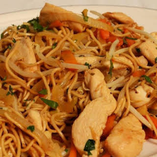 Chinese Chicken Chow Mein.