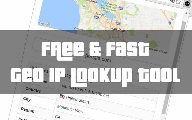 Geo IP Lookup