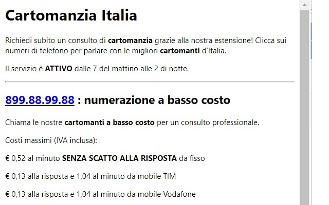 Cartomanzia Italia