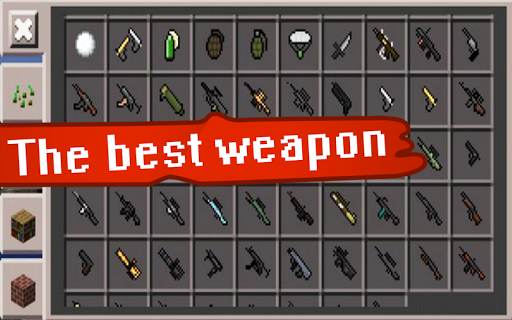 Mod Guns for Minecraft PE