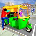 City Tuk Tuk Simulator icon