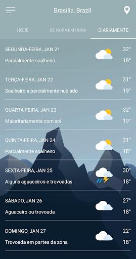 Previsão do tempo screenshot 8