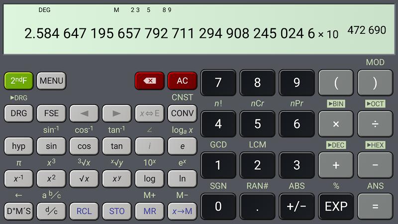 HiPER Calc Pro Screenshot 6