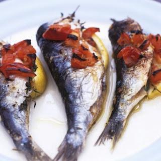 Thyme-stuffed Sardines