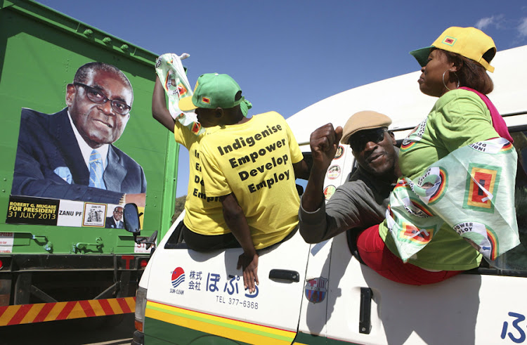 Members of the Zanu (PF) party. File picture: REUTERS