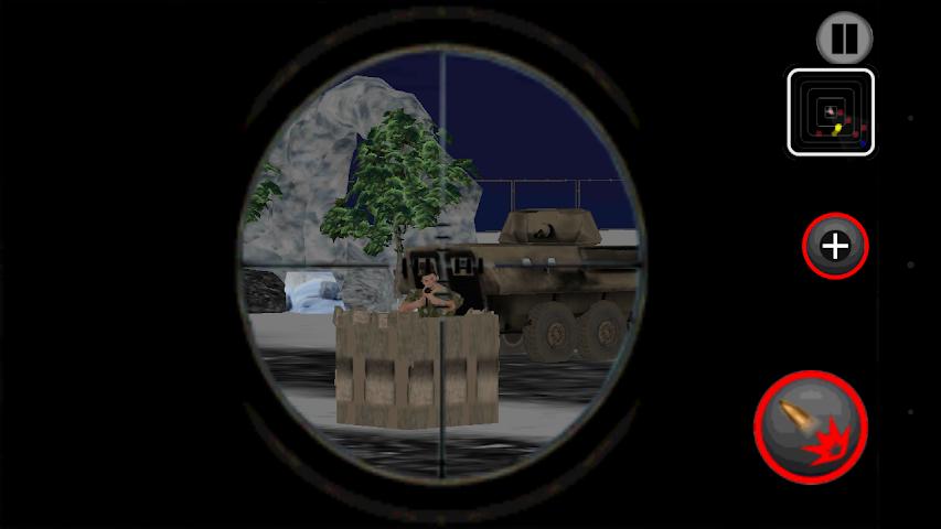 android Army Commando Shooter Sniper X Screenshot 6